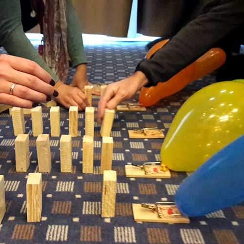 Impulskette das Kettenreaktions Teamevent in NRW