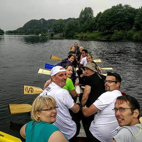 Drachenboot Fahrt