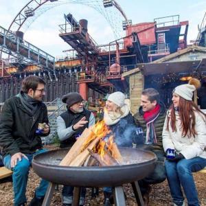 Traditionelle Weihnachtsfeier im Ruhrgebiet