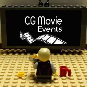 Legofigur vor TV