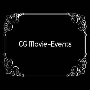 """Bild mit aufschrift """"CG-Movie-Events"""" im Stummfilm Style"""