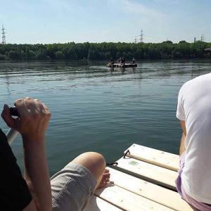 flossbau flosstour das teamevent im Ruhrgebiet