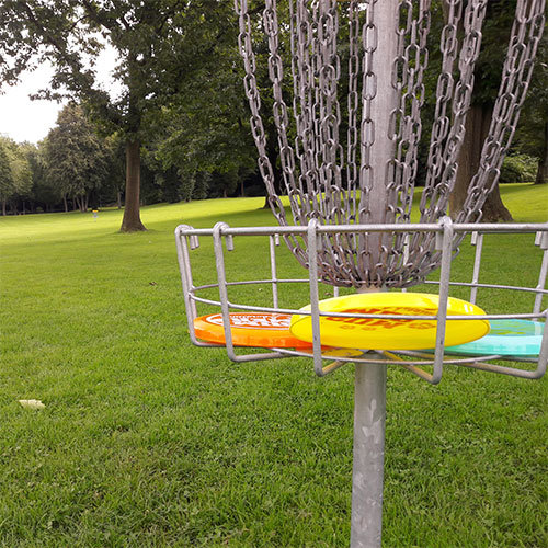 Disc Golf das Outdoor Teamevent