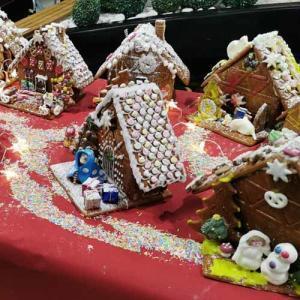 Lebkuchen Haus Dorf