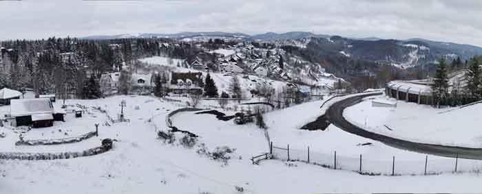 Schnee - Panorama