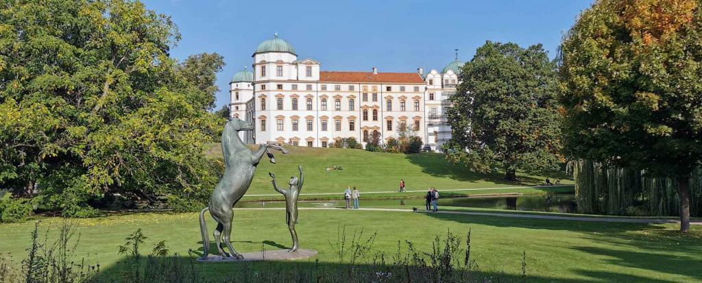 Außenansicht Schloss Celle Ideal für den Betriebsausflug