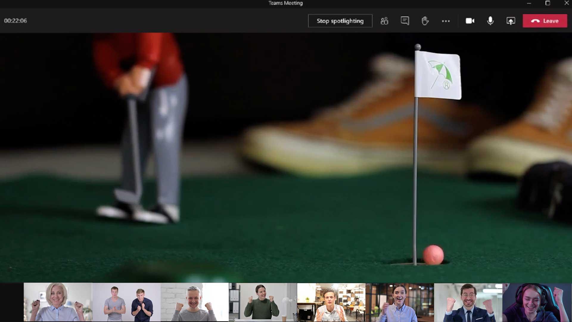 Indoor Minigolf - virtuell