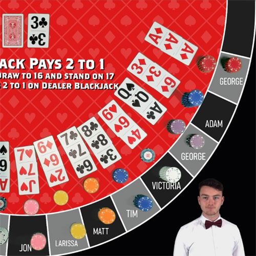 Black Jack virtuell