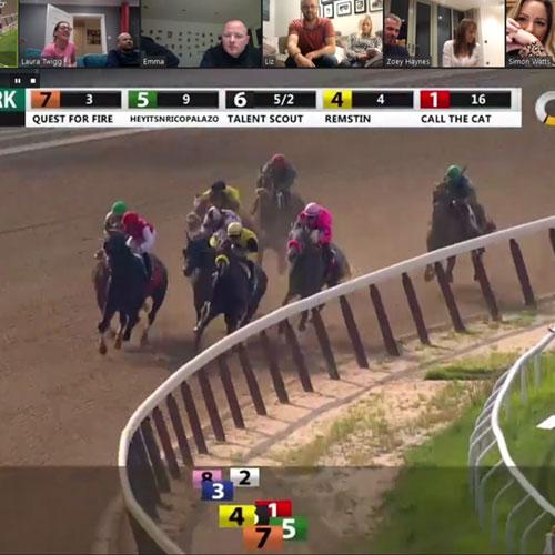 Pferderennen virtuell