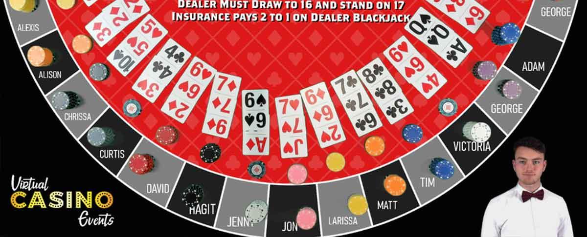 BlackJack virtueller Tisch