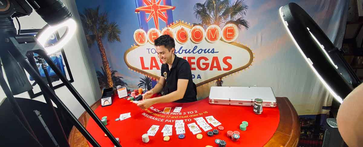 Virtueller Casino Tisch